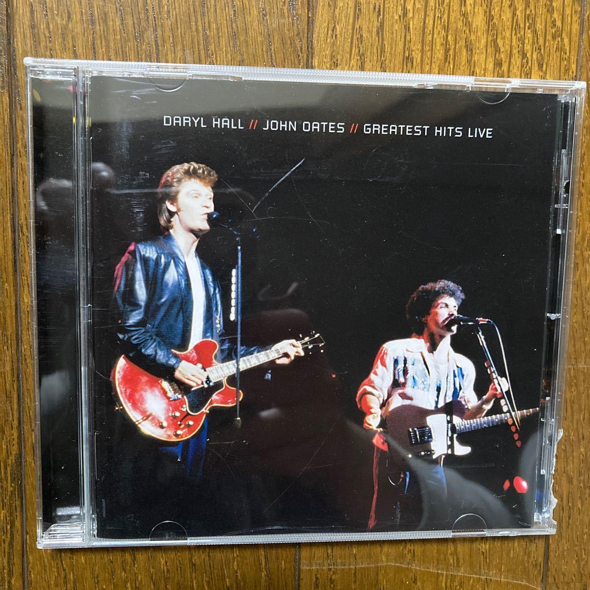 CD  ダリル ホール &  ジョン オーツ Greatest hits live