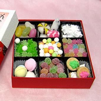 【★新品★SALE品】 : 「 花の都 」 京都 和菓子 お菓子 詰め合わせ 詰合せ 人気 定番 海外 小箱 プレゼント ギフト_画像1