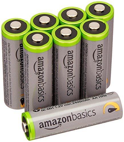 【★新品★SALE品】 : 高容量単3形8個パック ★ベーシック 充電池 高容量充電式ニッケル水素電池単3形8個セット (充電_画像1