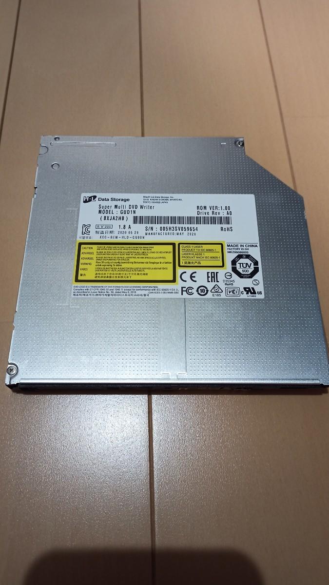 GUD1N super multi DVD writer 未使用品 DVDスーパーマルチドライブ