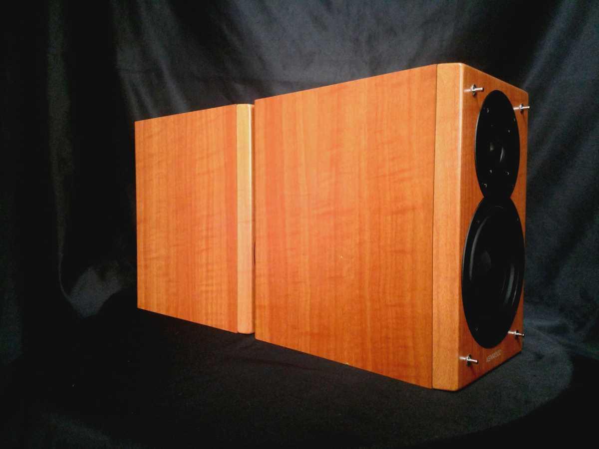 KENWOOD LS-K711 ケンウッド高音質2wayスピーカー◆除菌クリーニング品◆最高級艶出しWAX処理【音出し良好】_画像10