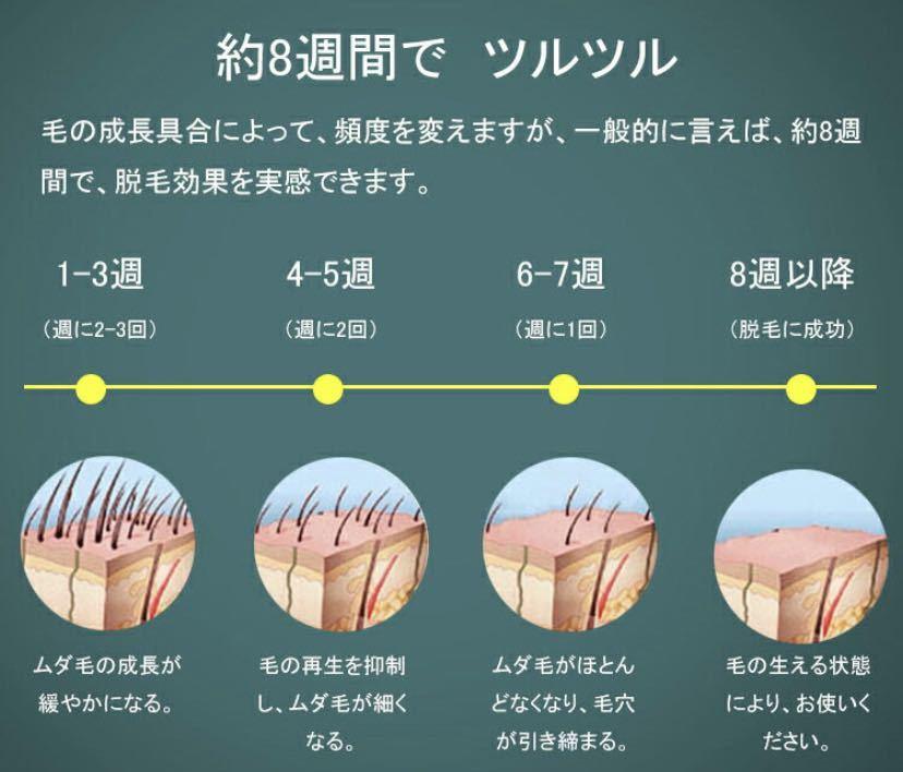 脱毛器 IPL光脱毛器 レーザー 光美容器 クール機能 冷感無痛 99万回 レディース メンズ ビキニライン 顔 全身用 家庭用 日本語説明書付き
