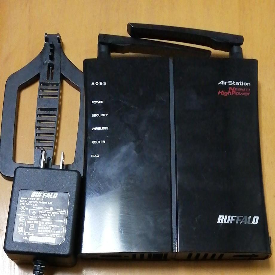 BUFFALO WHR-HP-G300N 無線LANルーター