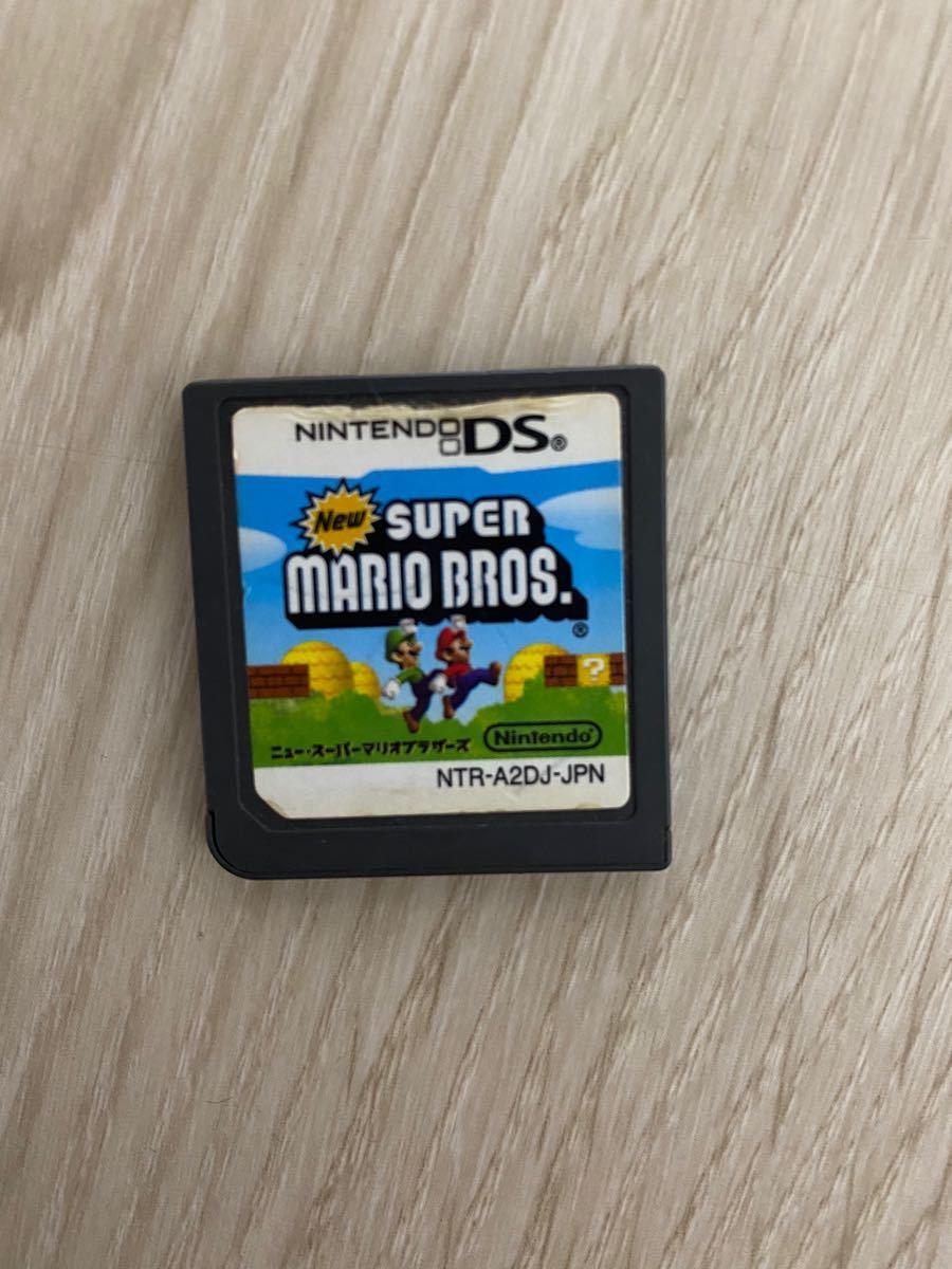 DSソフト Newスーパーマリオブラザーズ 箱無し