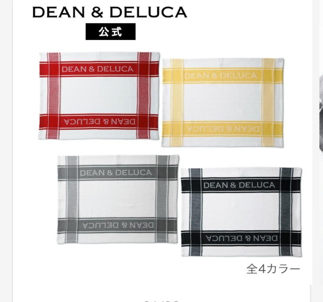 DEAN & DELUCA ディーンアンドデルーカ ティータオル レッド