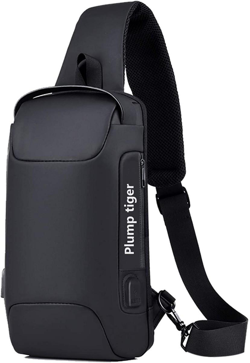 ボディバッグ ショルダーバッグ 大容量 斜めがけ ワンショルダー バッグ  防水耐久 USBポート付き ショルダー付替え可能