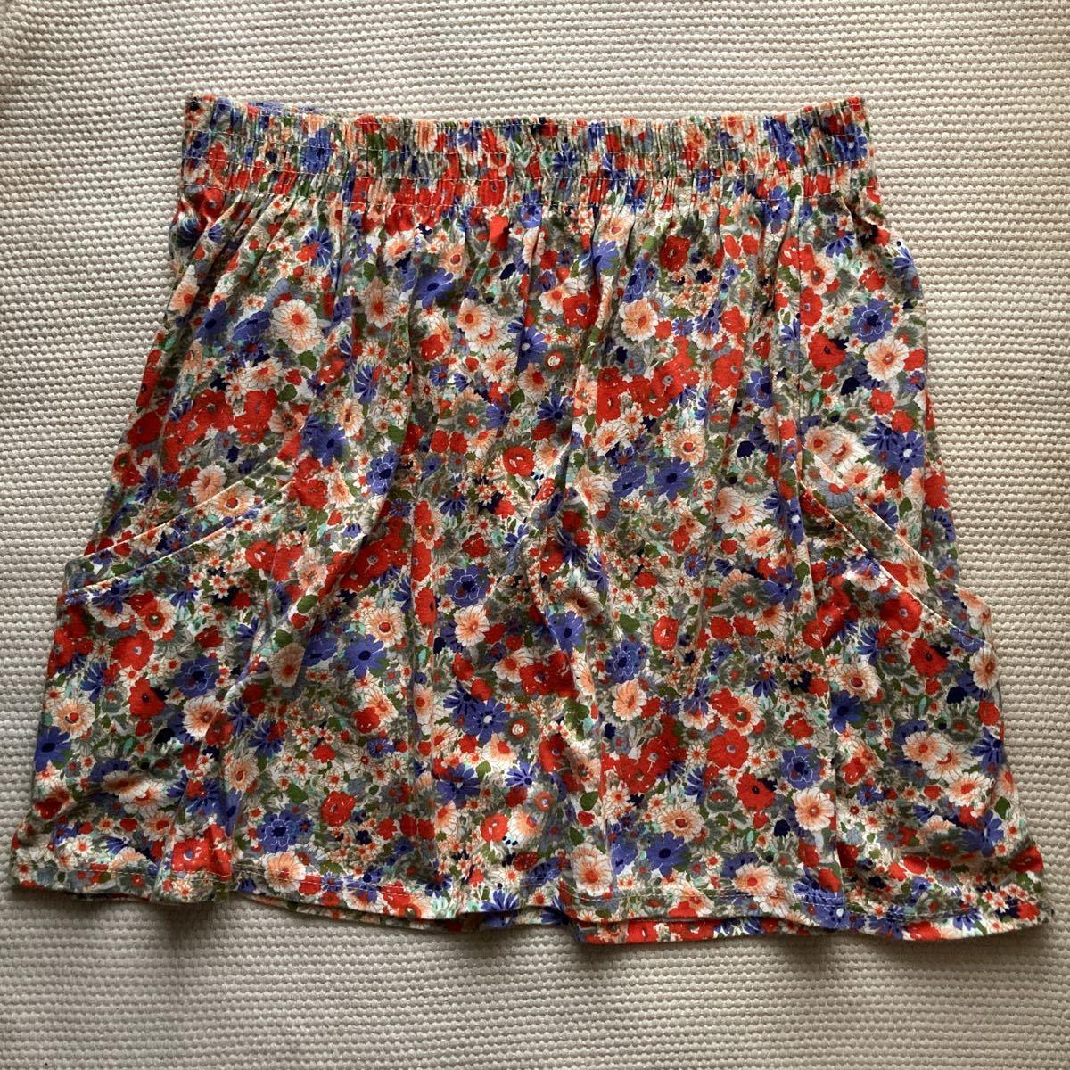 ZARA ザラ 花柄スカート フレアスカート GAP ギャップ ミニスカート H&M ユニクロ GU ジーユー