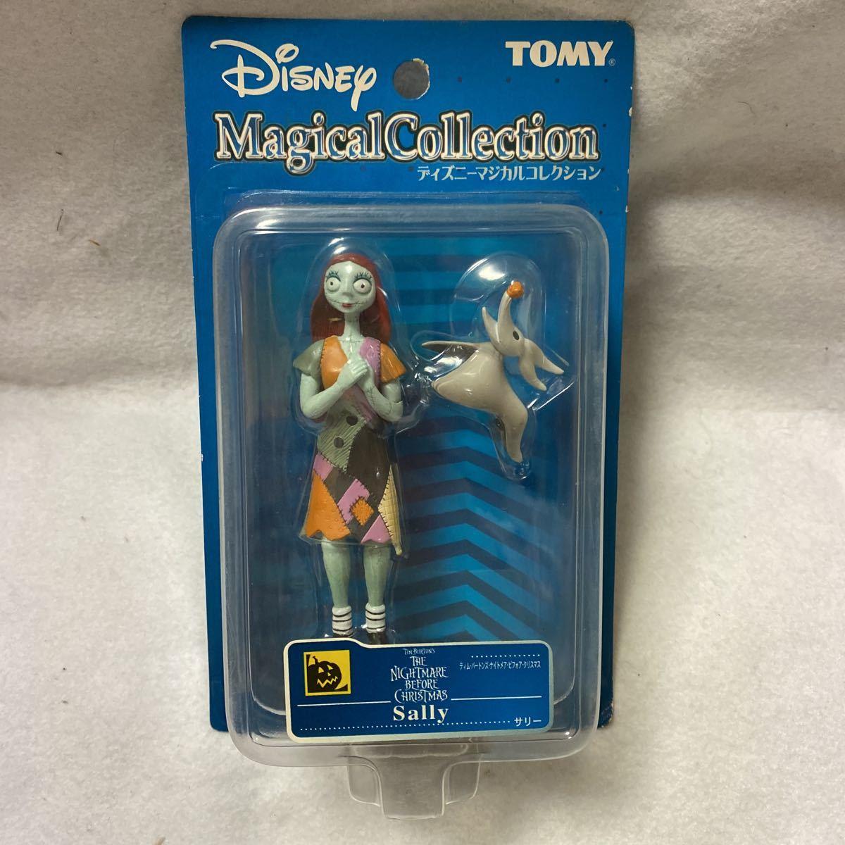 ディズニー マジカル コレクション テイムバートンズ ナイトメア ビフォア クリスマス サリー ゼロ フィギュア TOMY Disney トミー_画像1
