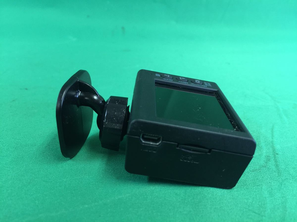 MC113 中古 ユピテル Yupiteru ドライブレコーダー DRY-ST5000 GPS HDR Gセンサー搭載 2.0型 200万画素 常時録画 本体のみ 動作保証_画像2