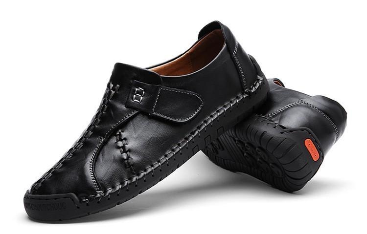 新品 メンズ スリッポン ローファー ドライビングシューズ 紳士靴 カジュアル ローカット 黒_画像7