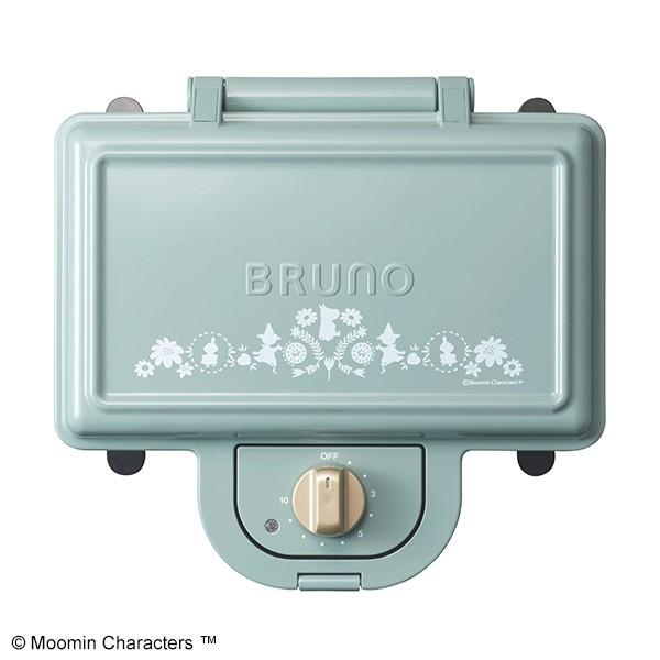 BRUNO ブルーノ  ホットサンドメーカー ダブル  ムーミン