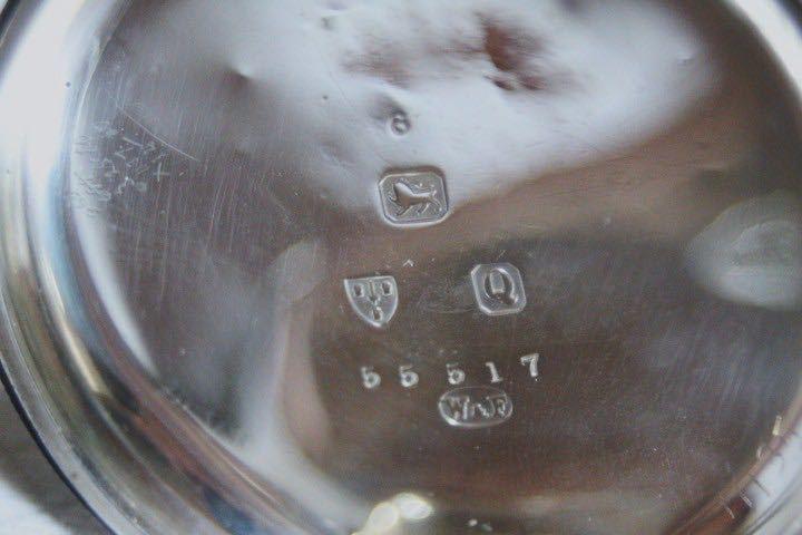 即決 銀無垢 1875年 英国製 超希少 CCWM製造 機械式 懐中時計_画像5