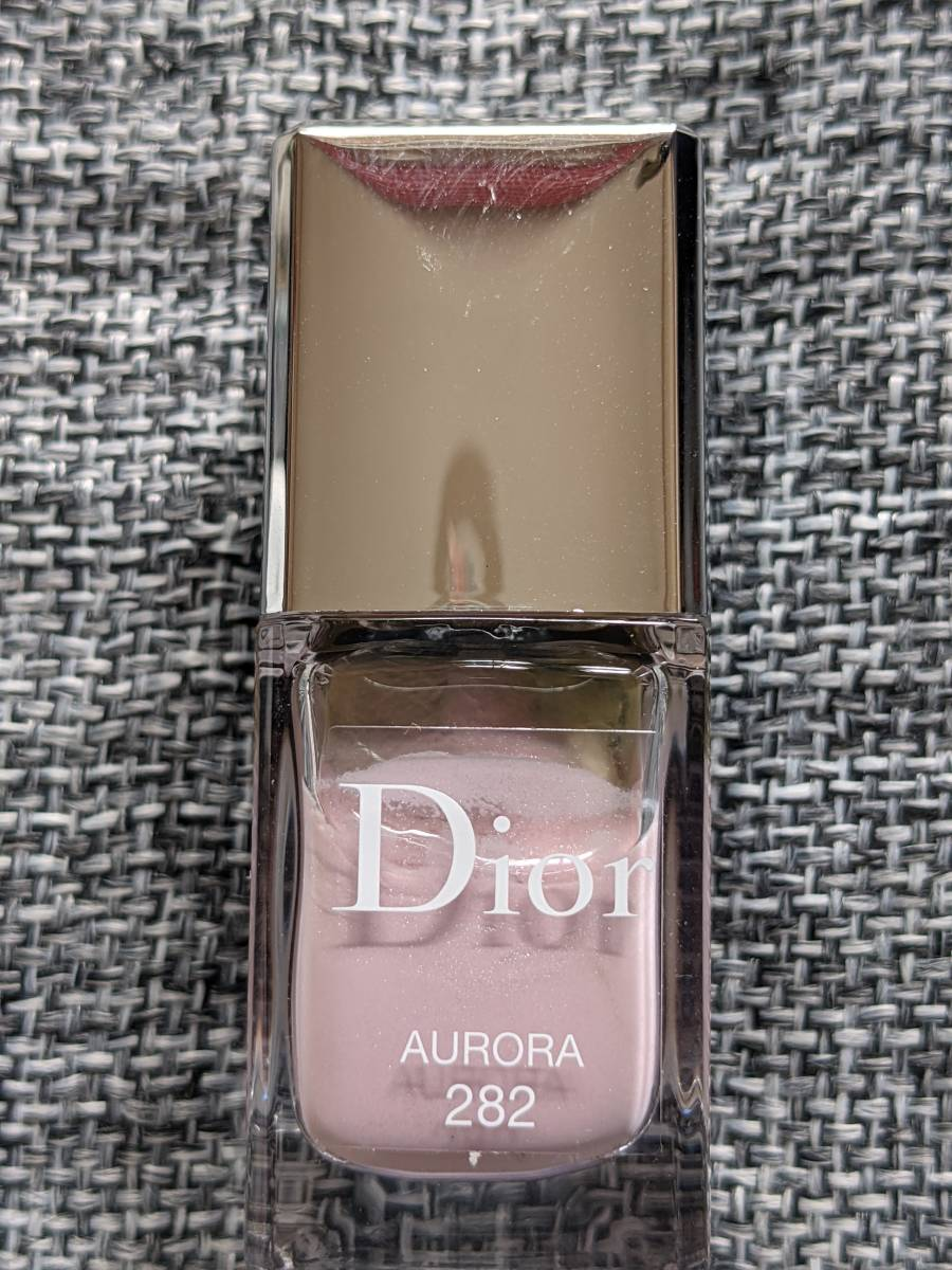 Dior VERNIS #282 AURORA ディオール ヴェルニ 282 オーロラ 正規輸入品 生産終了品 新品未使用