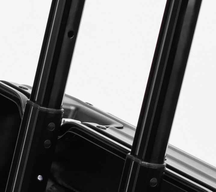 アルミスーツケース 17インチ ブラック 機内持ち込み 小型 アルミトランク 旅行用品 TSAロック キャリーケース キャリーバッグ_画像8