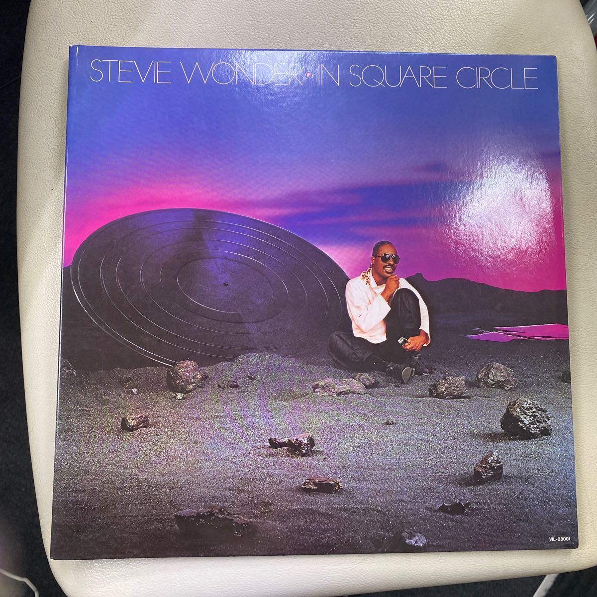 LP Stevie Wonder In Square Circle VIL28001 MOTOWN (レコード盤)