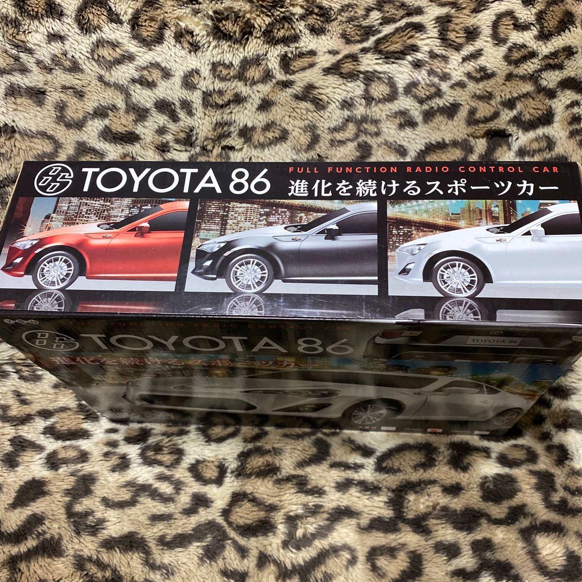 ラジコン TOYOTA86