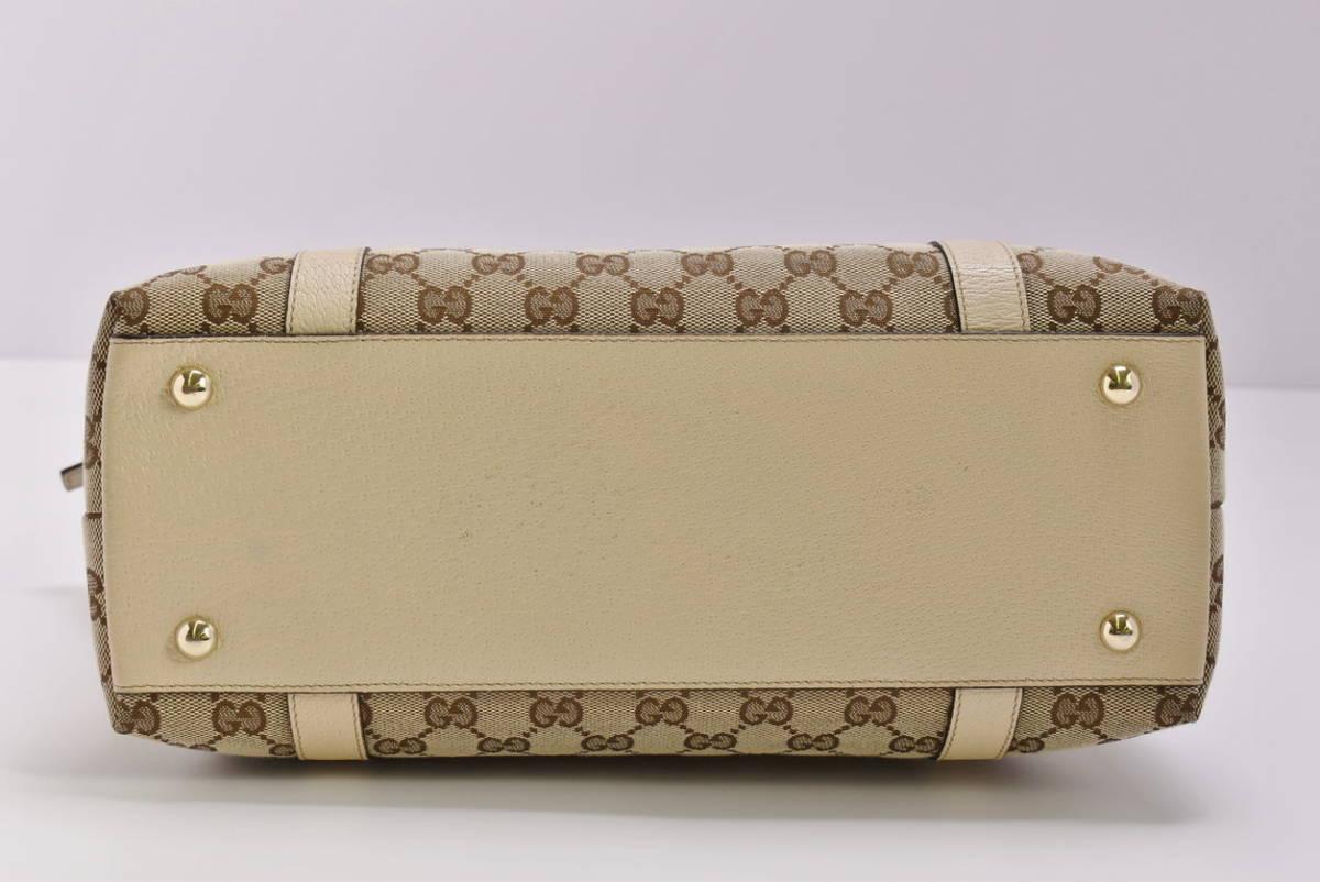 グッチ GUCCI トートバッグ アビー ABBEY 141470 レディース GGキャンバス 保存袋付き イタリア製 → 2103LS010_画像4