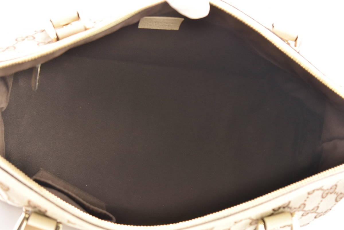 グッチ GUCCI トートバッグ アビー ABBEY 141470 レディース GGキャンバス 保存袋付き イタリア製 → 2103LS010_画像5