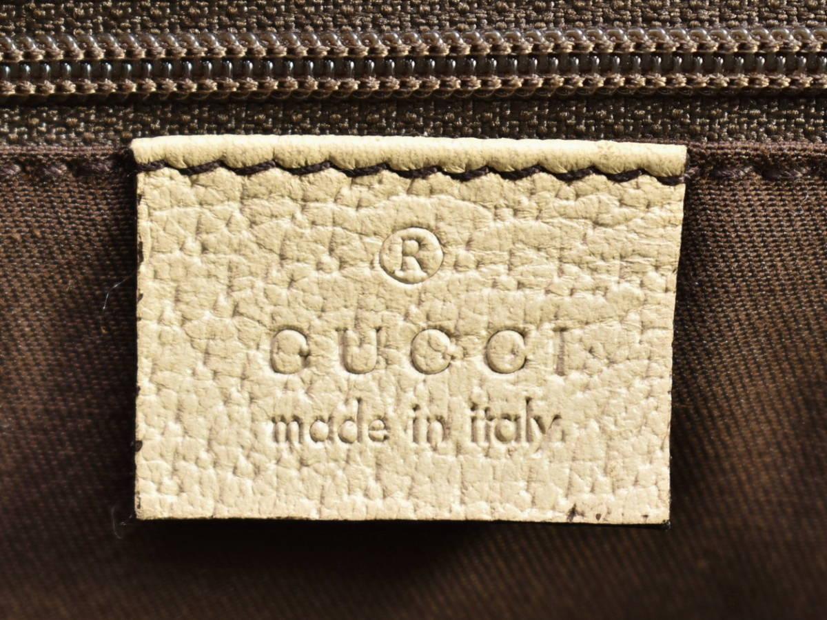 グッチ GUCCI トートバッグ アビー ABBEY 141470 レディース GGキャンバス 保存袋付き イタリア製 → 2103LS010_画像7