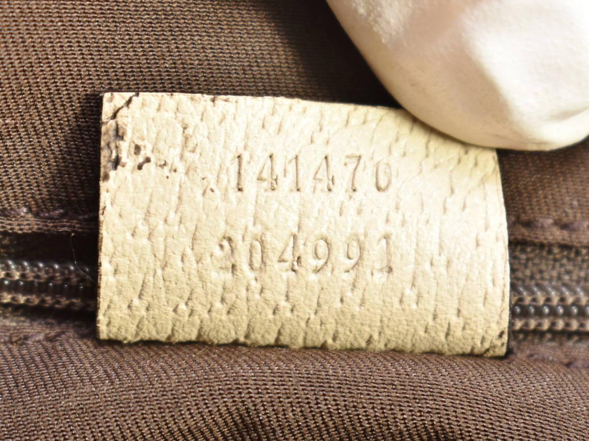 グッチ GUCCI トートバッグ アビー ABBEY 141470 レディース GGキャンバス 保存袋付き イタリア製 → 2103LS010_画像8