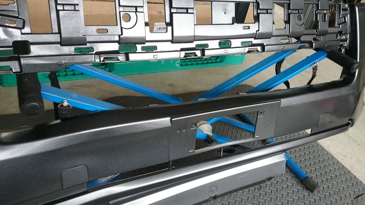 格安売り切り【ほとんど訳なし】新品 ハイエース 200系 4型 標準用 純正タイプ フロントバンパー 1G3 グレーメタリック 塗装済み_画像5