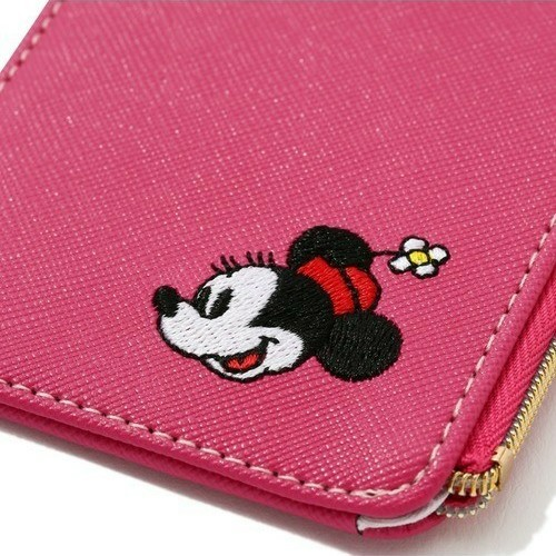 【Francfranc】フランフラン Disneyパスケース ミニー ピンク