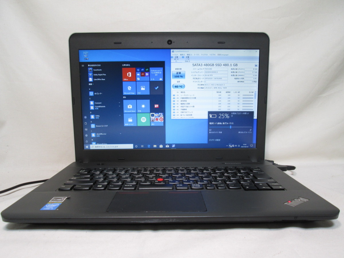 Lenovo ThinkPad E440 20C5CTO1WW Core i5 4200M 2.5GHz 16GB 480GB 爆速SSD(新品) 14型 DVD作成 Win10 64bit Office USB3.0 Wi-Fi [78784]_画像1