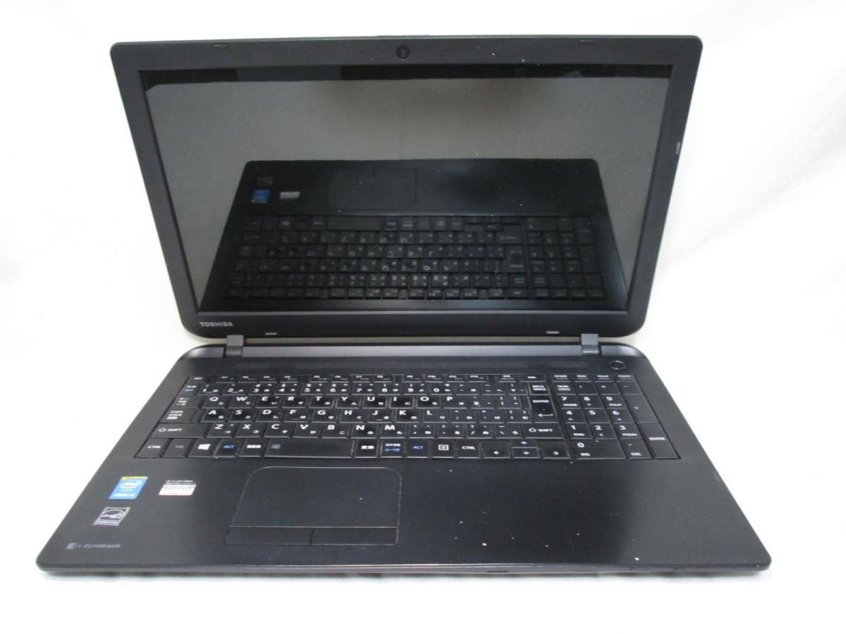 東芝 dynabook BB25/MB PB25MCAD482JD7Y Core i3 4025U 1.9GHz 15.6インチ DVDマルチ ジャンク [78807]_画像1