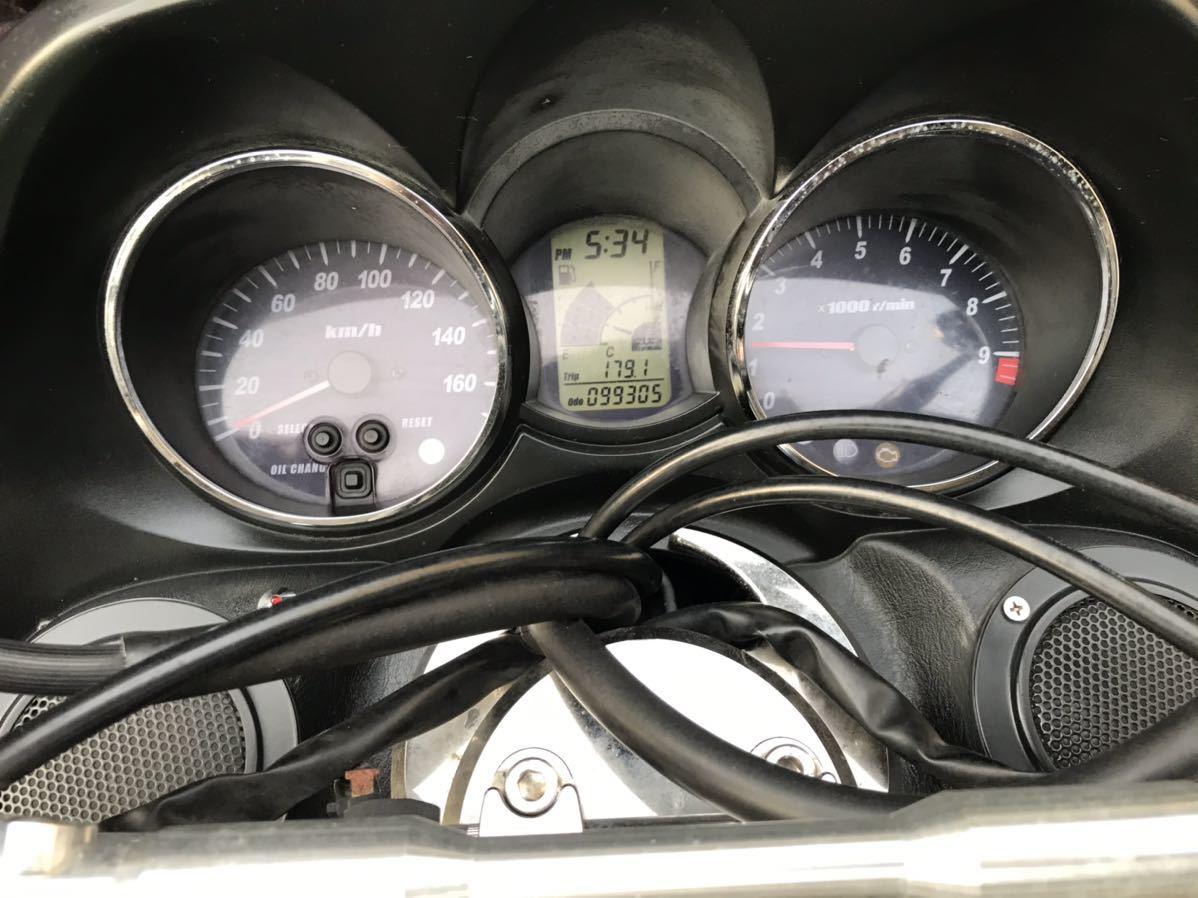 【ジャンク】YAMAHA マジェスティ 黒 ビックスクーター セル始動確認済み 中古車 実働車 250cc 過走行 乗り潰し 激安 通勤に最適 大阪府_画像10