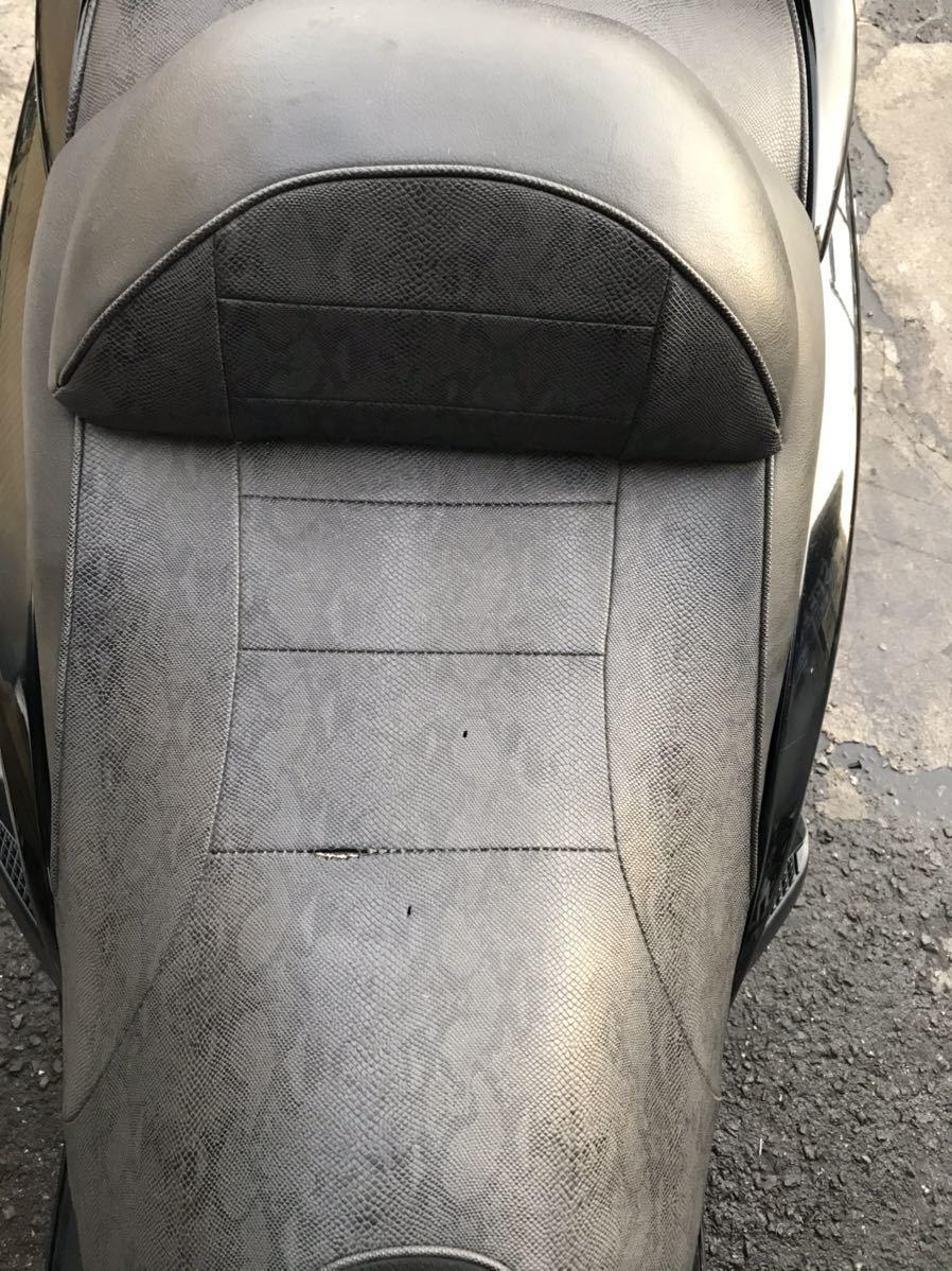 【ジャンク】YAMAHA マジェスティ 黒 ビックスクーター セル始動確認済み 中古車 実働車 250cc 過走行 乗り潰し 激安 通勤に最適 大阪府_画像8