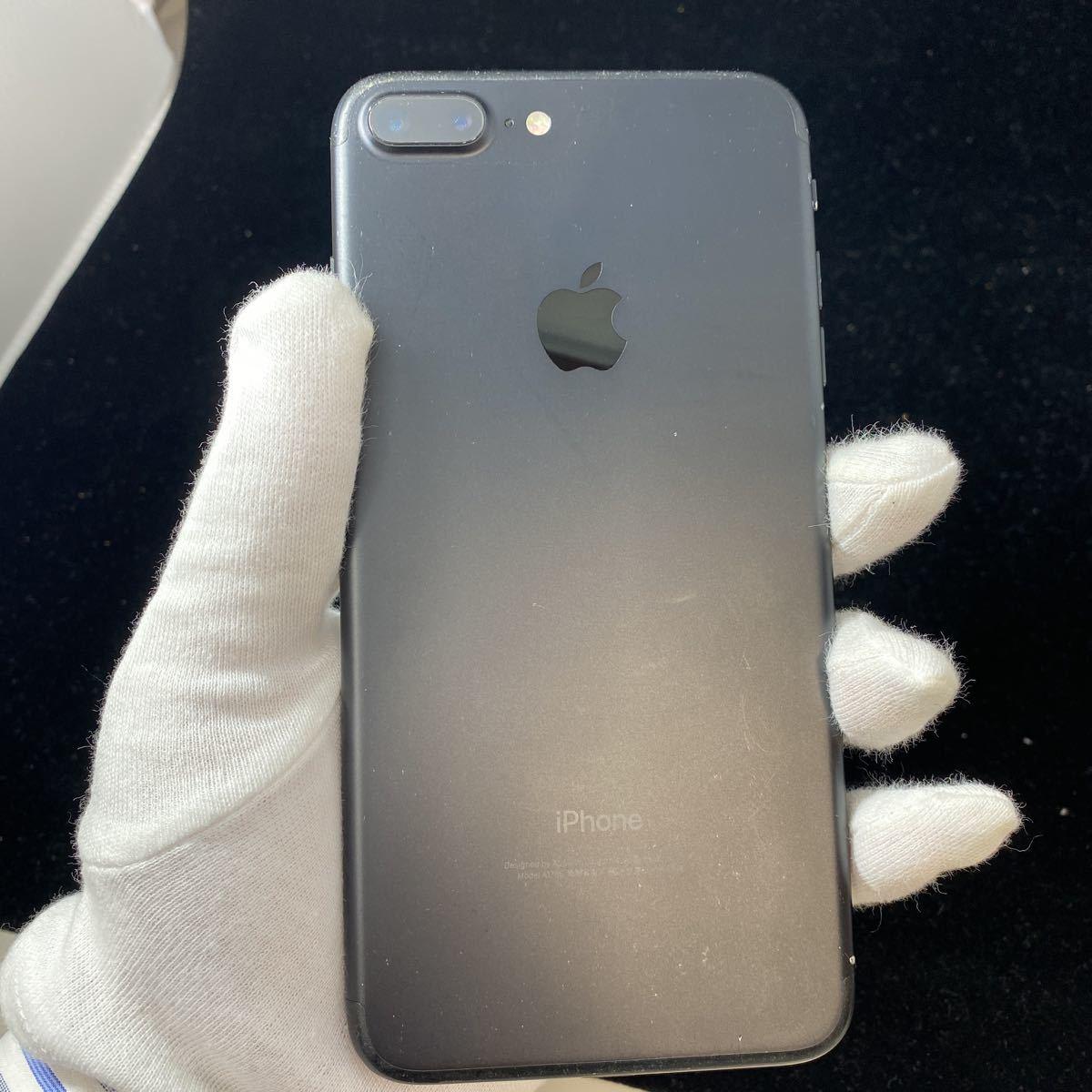SIMフリー iPhone7 Plus 128GB Jet Black シムフリー アイフォン7 プラス ジェットブラック 黒 本体_画像5