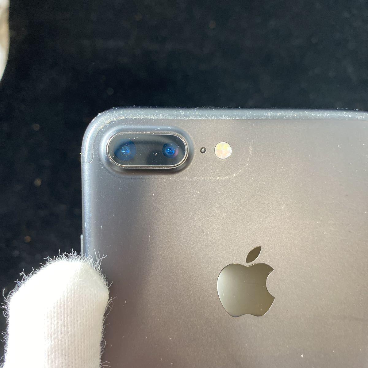 SIMフリー iPhone7 Plus 128GB Jet Black シムフリー アイフォン7 プラス ジェットブラック 黒 本体_画像6
