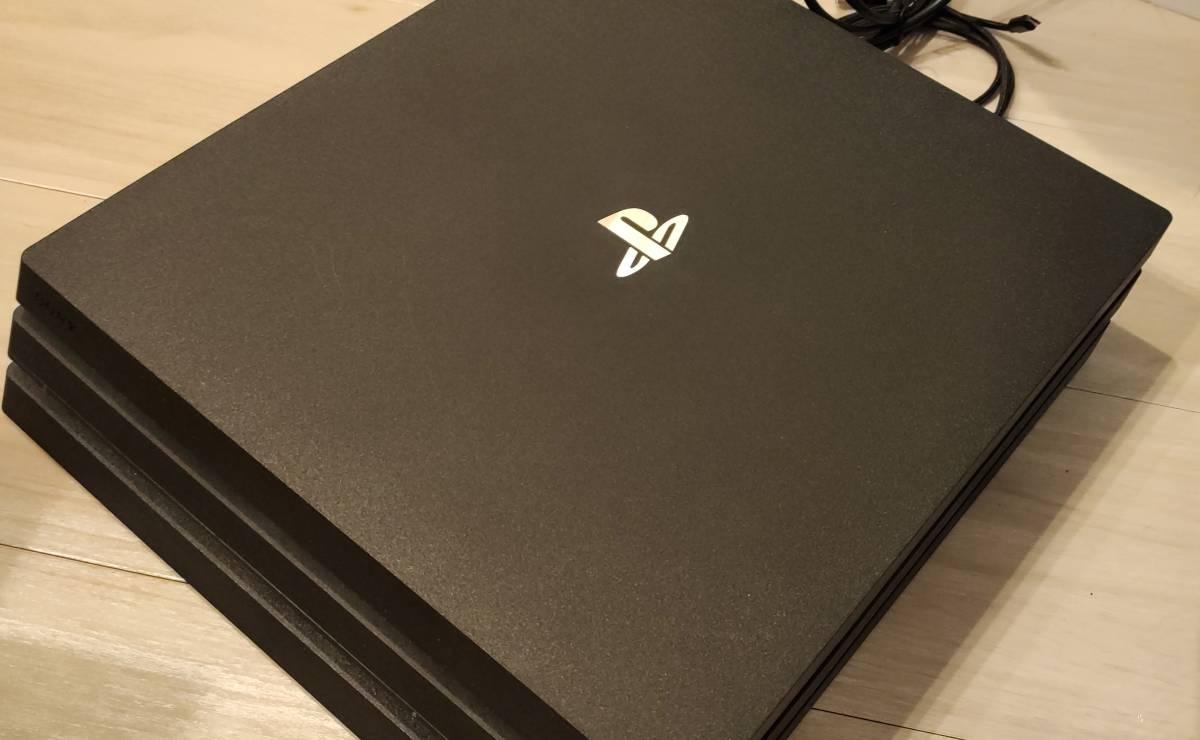 PlayStation4 Pro 本体 1TB ブラック SONY CUH-7100BB01 送料無料 ソフト おまけ ps4