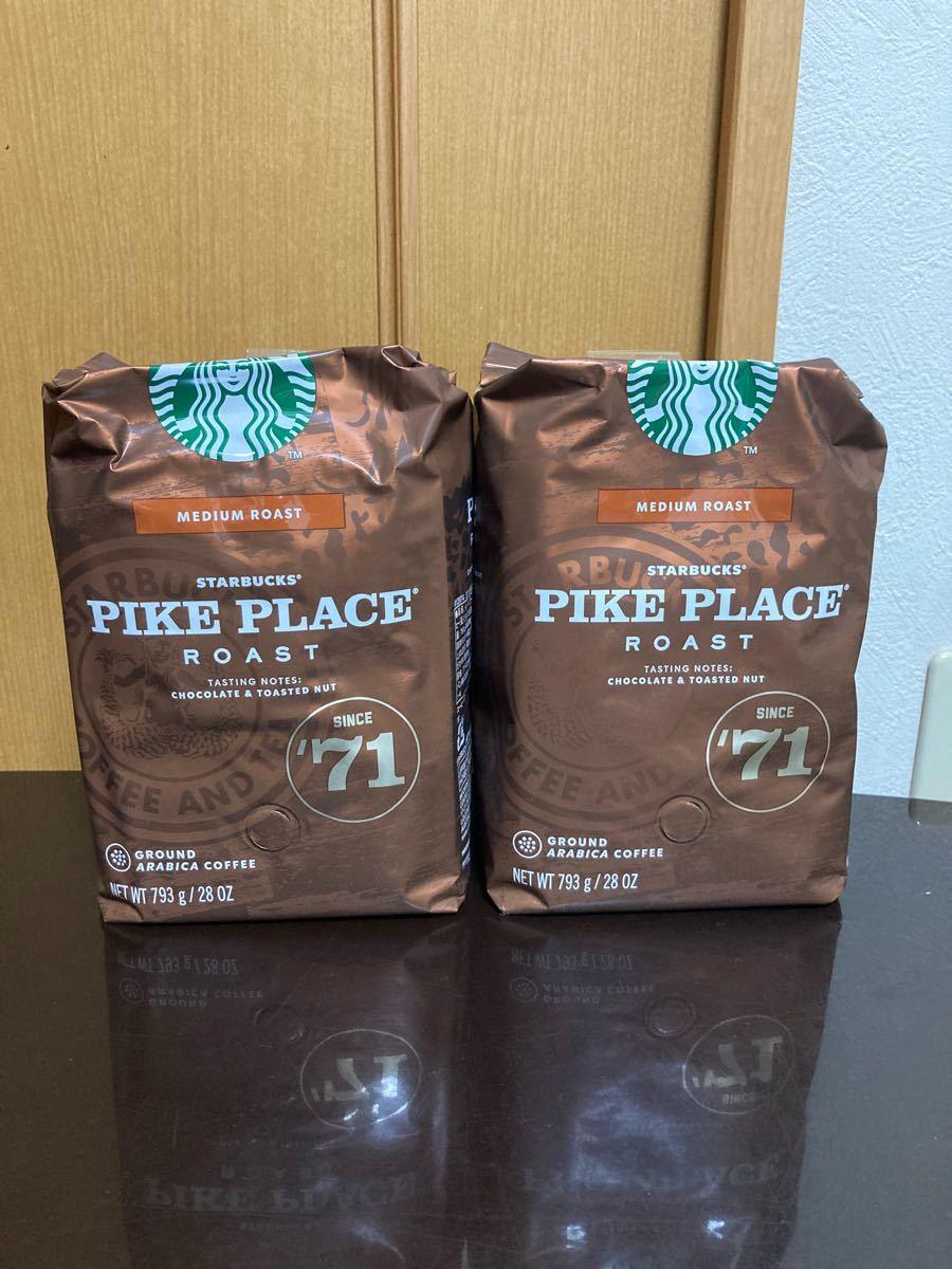スターバックスコーヒー pikeplaceroast パイクプレイスロースト