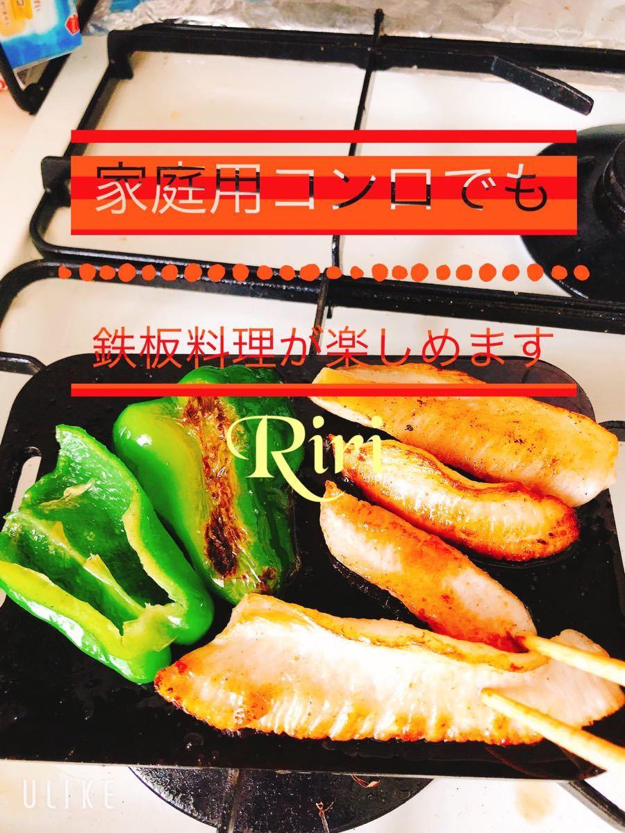 鉄板 ラージ トランギア メスティン 黒皮鉄板6ミリ バーベキュー BBQ 焼肉