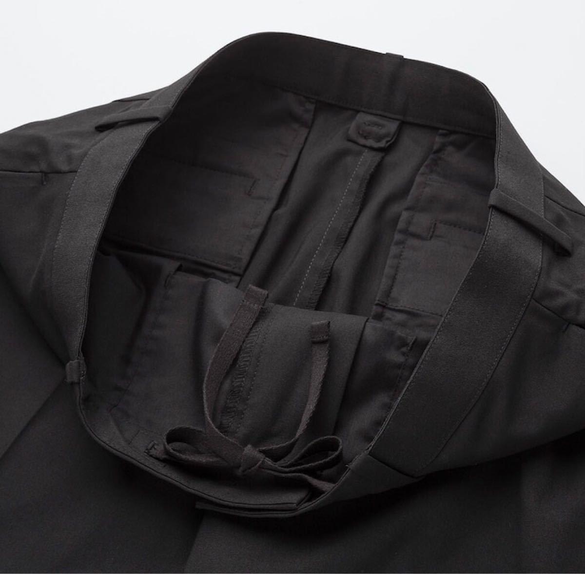 UNIQLO EZYアンクルパンツ(ウールライク・標準丈65cm)カラー:GRAY サイズ:MEN XS