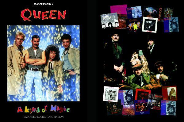 QUEEN / THE WORKS A KIND OF MAGIC -EXPANDED COLLECTOR'S EDITION シリーズ 2タイトル セット [計 4CD+2DVD] 新品 輸入 クイーン_画像6