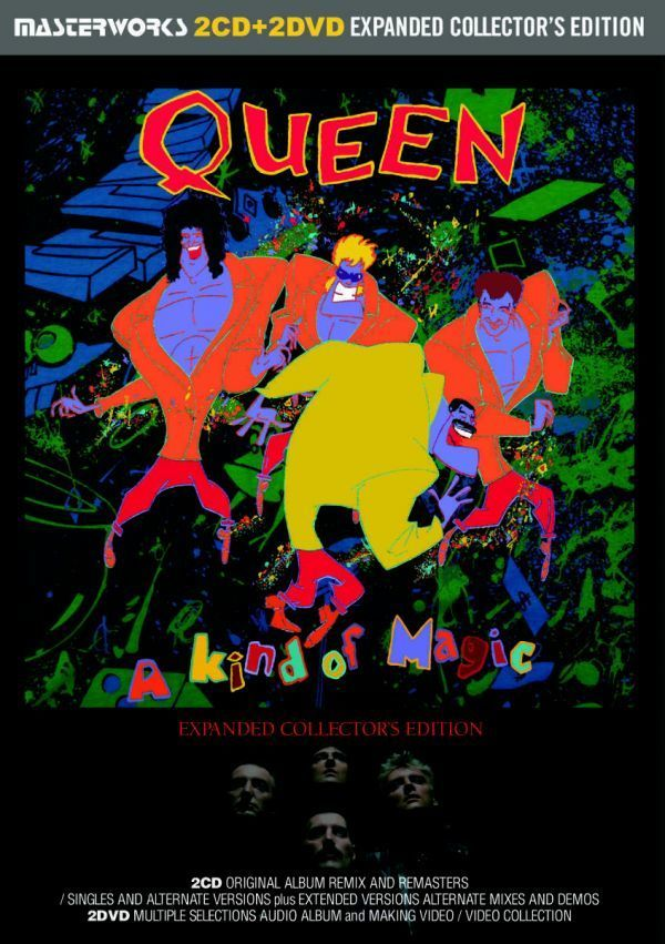 QUEEN / THE WORKS A KIND OF MAGIC -EXPANDED COLLECTOR'S EDITION シリーズ 2タイトル セット [計 4CD+2DVD] 新品 輸入 クイーン_画像5