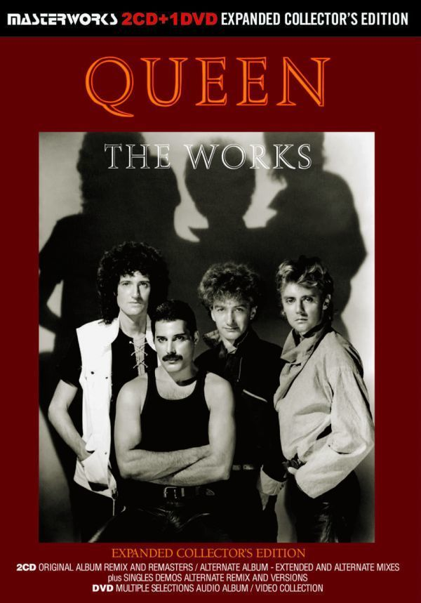 QUEEN / THE WORKS A KIND OF MAGIC -EXPANDED COLLECTOR'S EDITION シリーズ 2タイトル セット [計 4CD+2DVD] 新品 輸入 クイーン_画像4