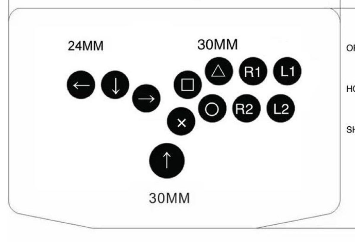 Smart BOX Pro 30φ (SOCD対応hitbox型)(PS3/PS4/PC対応)【SBP30】