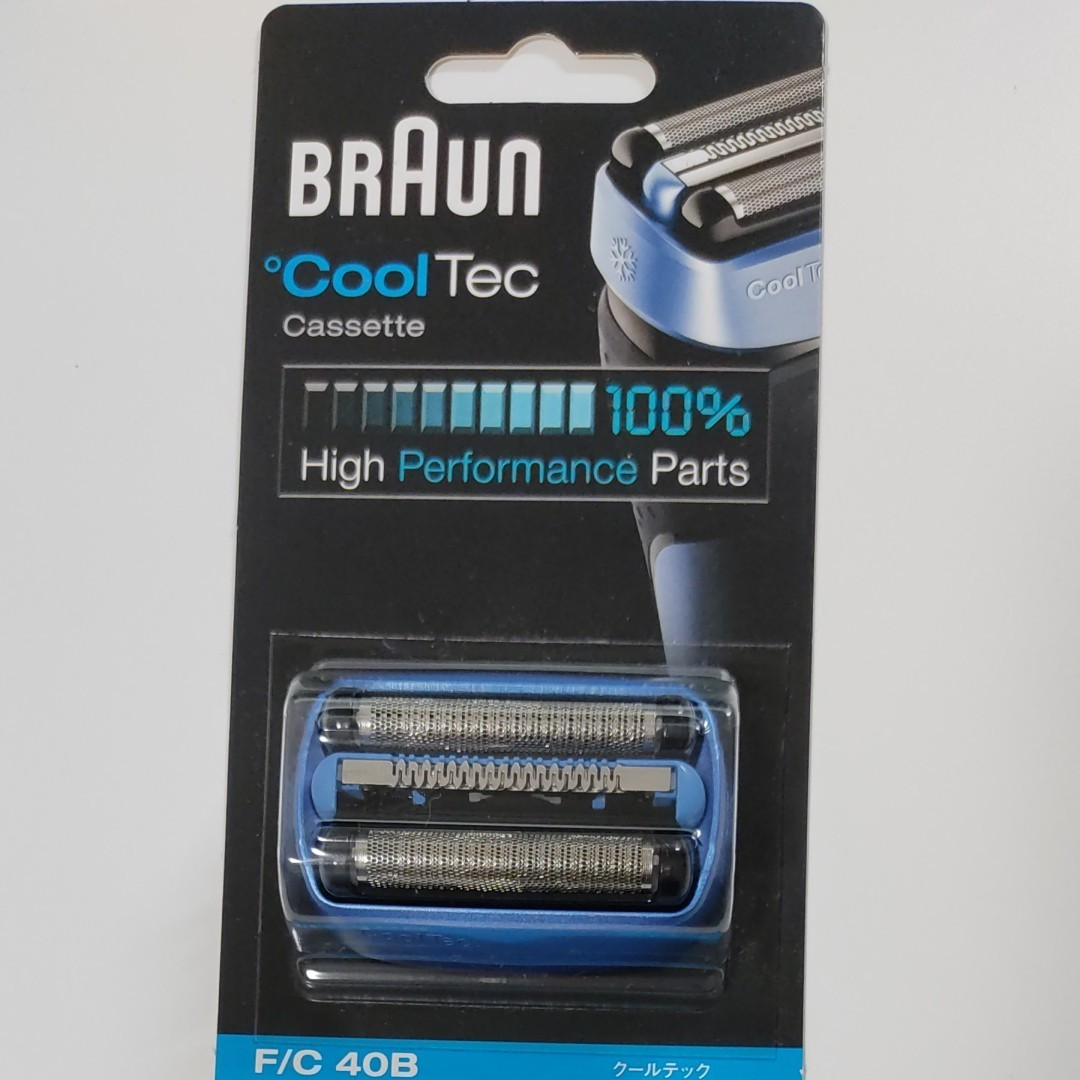 BRAUN シェーバー CoolTec替刃 F/C40B
