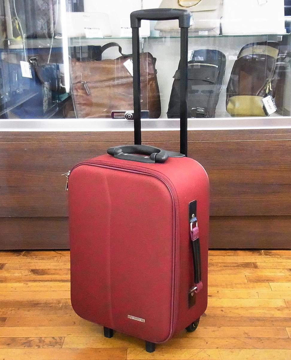 JETAGE/ジェットエイジ ソフト キャリーバッグ ワインレッド 機内持ち込みサイズ 鍵欠品 キャリーケース/スーツケース/トラベルバッグ_画像1