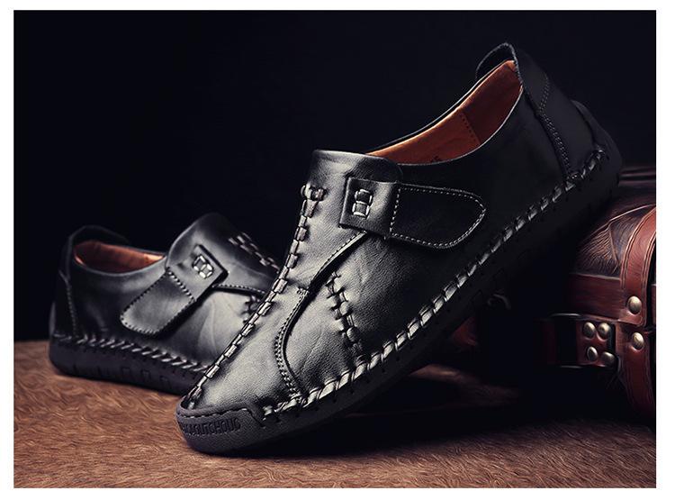 新品 メンズ スリッポン ローファー ドライビングシューズ 紳士靴 カジュアル ローカット 黒_画像3