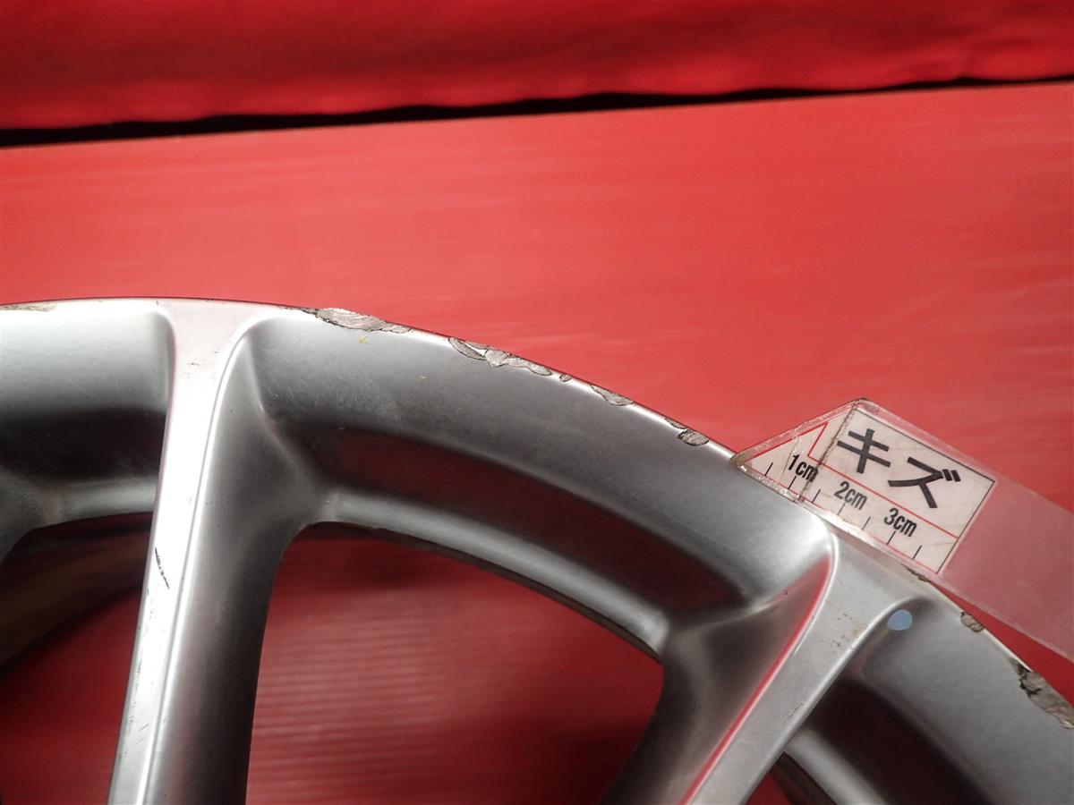 【 激安 中古 4本セット 】 日産 スカイライン V36 350GT タイプSP 純正 アルミ ホイール 18インチ 7.5J/8.5J +45/+50 PCD114.3 5穴 cc18_画像10