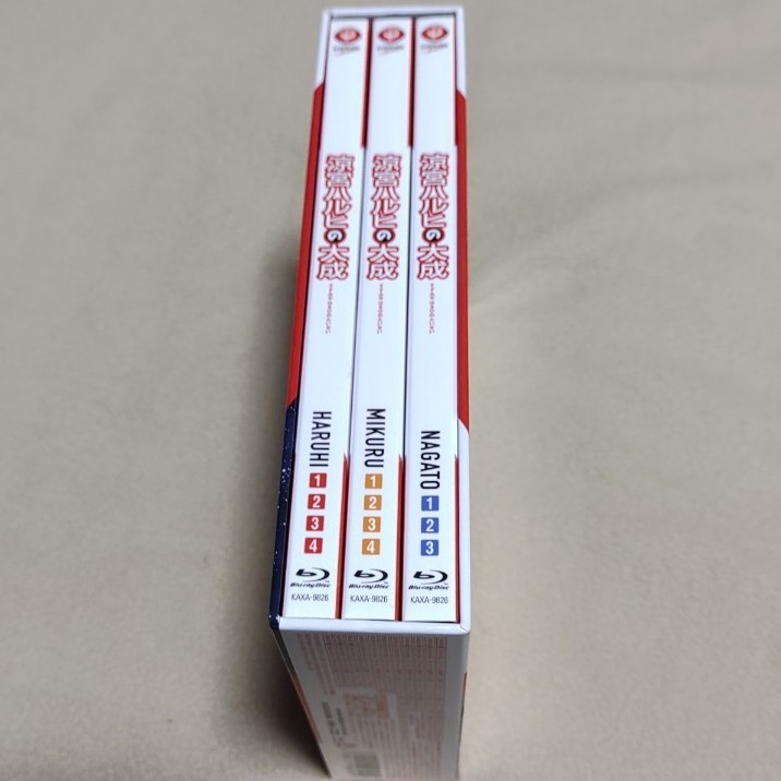 涼宮ハルヒの大成 スーパーブルーレイBOX 初回限定生産版