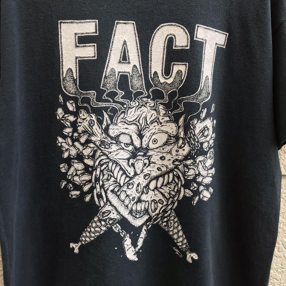 FACT バンドTシャツ 古着 ロックTシャツ