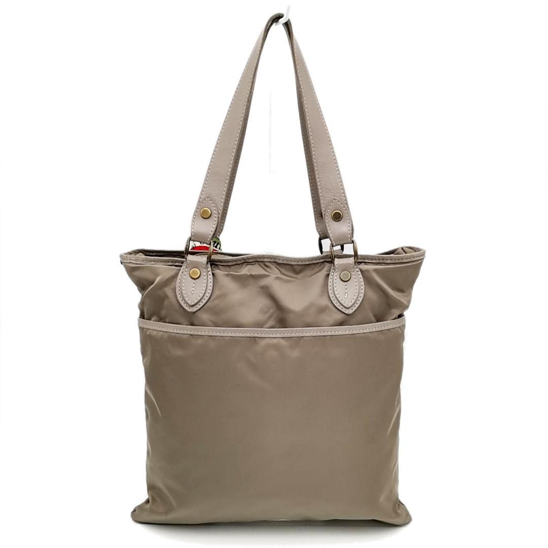 送料無料 オロビアンコ OROBIANCO ハンドバッグ トートバッグ 鞄 ナイロン 灰 グレー系 メンズ_画像2