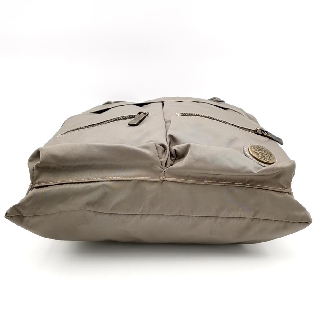 送料無料 オロビアンコ OROBIANCO ハンドバッグ トートバッグ 鞄 ナイロン 灰 グレー系 メンズ_画像4
