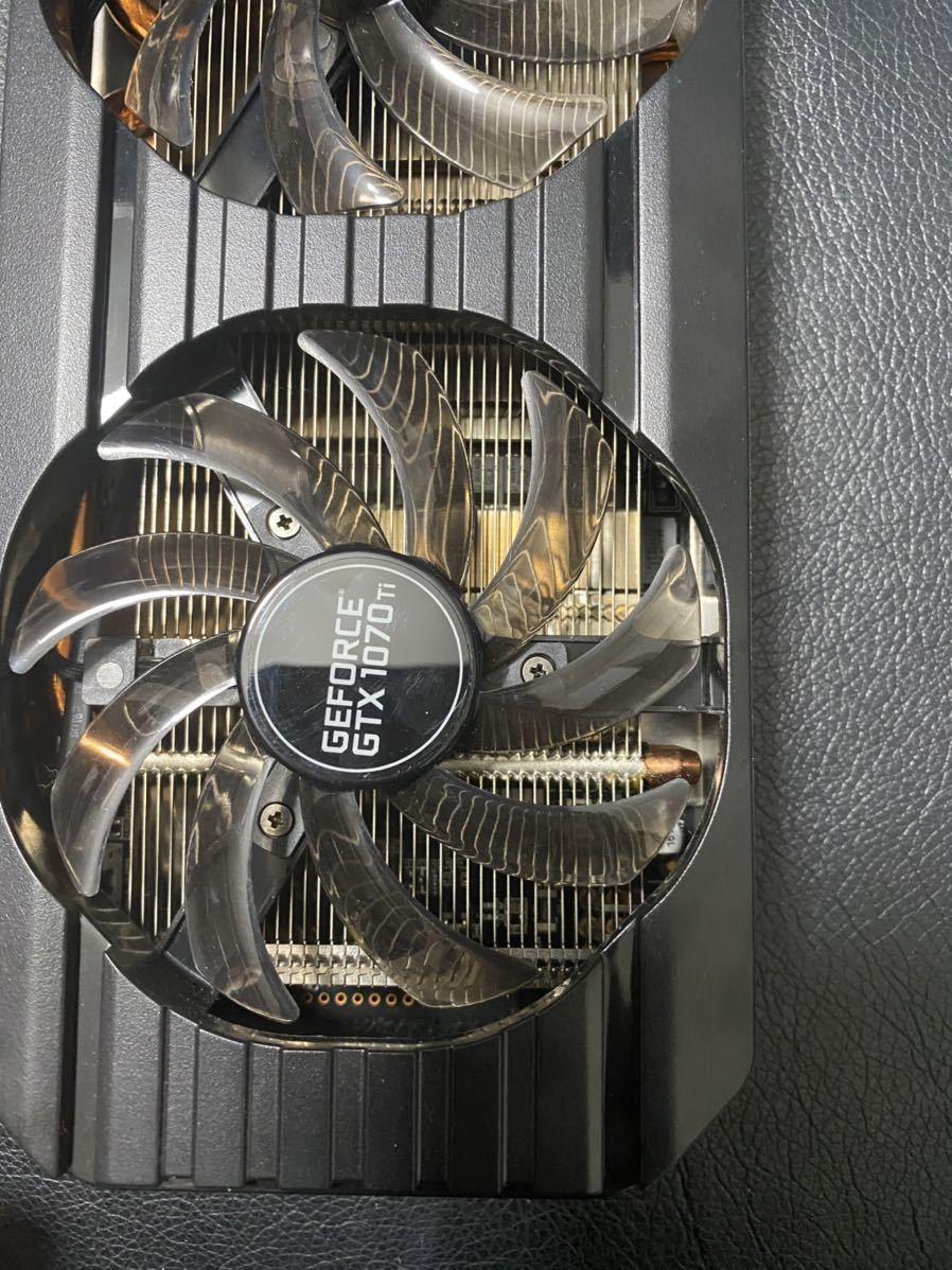 GeForce GTX1070Ti DUAL 8G GDDR5 256bit _画像2