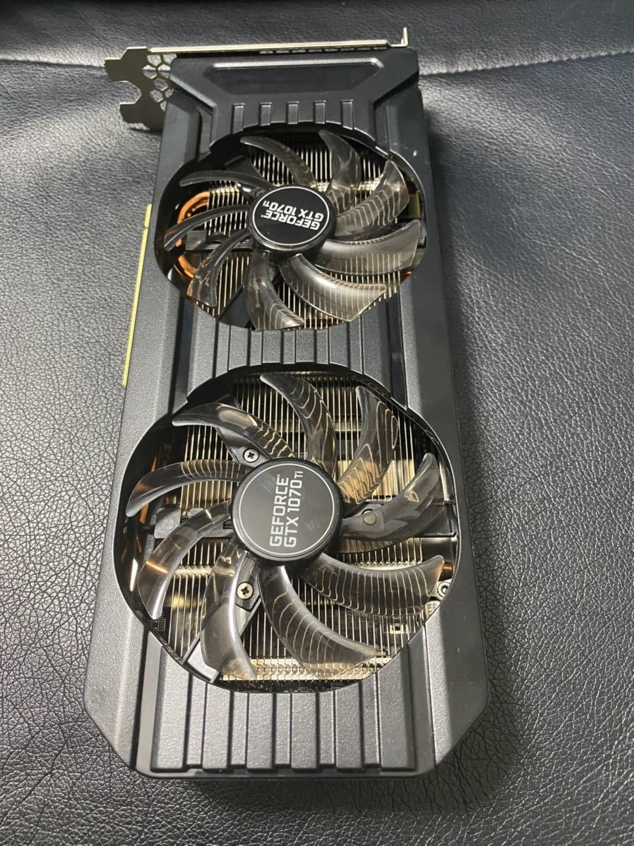 GeForce GTX1070Ti DUAL 8G GDDR5 256bit _画像1